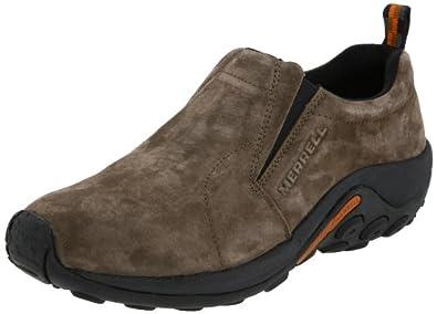 Merrell Jungle Moc Nubuck, Men's Loafers, Gunsmoke, 7 UK