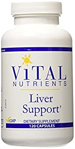Vital Nutrients Liver Support, 120 Capsules