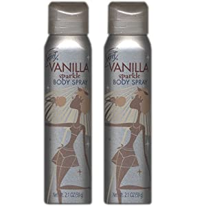 Secret Vanilla Sparkle Body Spray 2.1 oz (2 PACK)