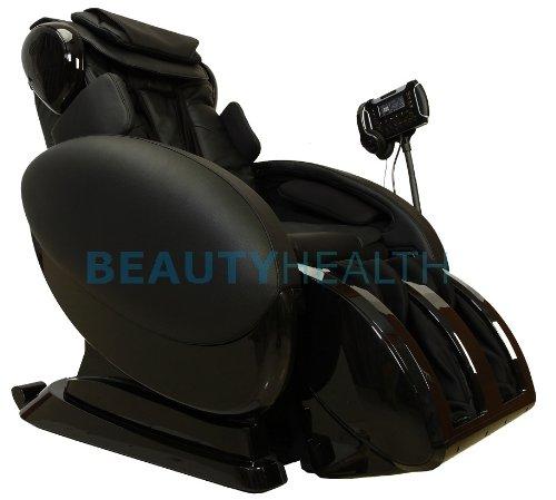 Forever Rest Supreme Series True Zero Gravity Shiatsu Massage Chair With Built In Speakers, Rolling Foot Massage 10Yr Warranty (Black)