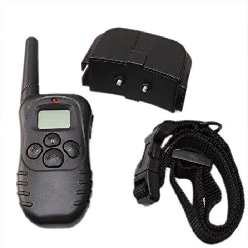 New Shop H0088 Lcd Remote Control Adjustable Shock Collar Vibra Electric Dog Training -6L