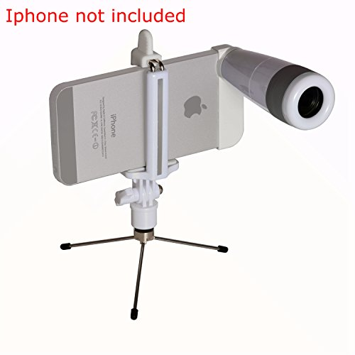Hot Sale!!2 In 1 Iphone 5 Camera Lens Kit 8X White Telephoto Manual Focus Telescopic Camera Lens Latest 8X Magnification Zoom Telescope Camera Lens For Apple Iphone 5 Telephoto Lens For Iphone 5