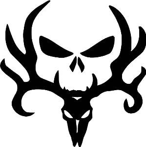 Amazon.com: JP Vinyl Design - Bone Collector Logo -Vinyl