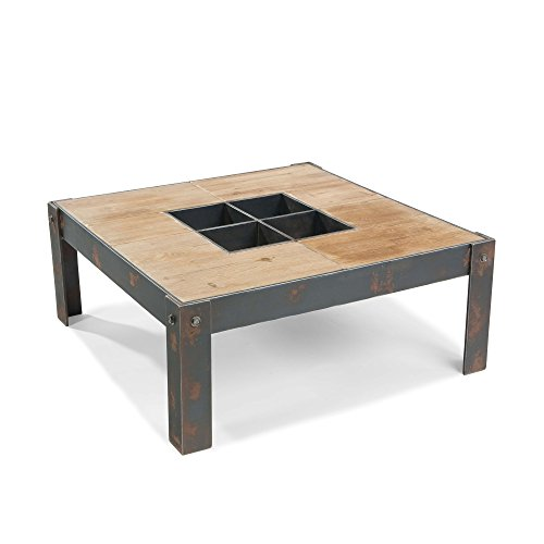 "Square Coffee Table 15"" H x 35.88"" W x 35.88"" D Target Ikea Foosball Restaurant Poker Pingpong Game"