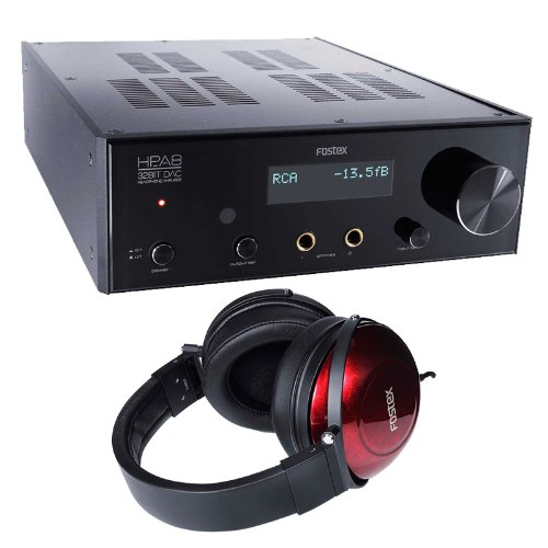 Fostex Hp-A8 Headphone Amp With Th-900 Headphones Bundle