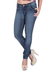 Airways Womens' Stretchable Slim Fit Denim-34
