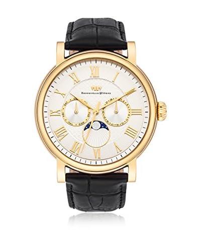 Rhodenwald & Söhne Reloj con movimiento cuarzo japonés 10010115 Negro 44 mm