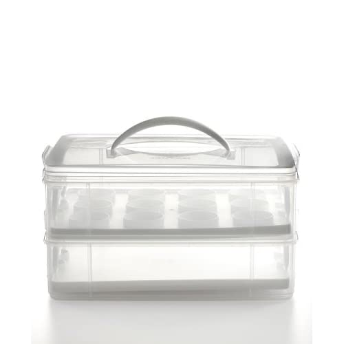 Amazon.com: Martha Stewart Collection Cupcake Cake and Cookie Carrier