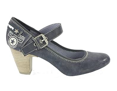 s oliver trend pumps navy blau gr 41 schuhe. Black Bedroom Furniture Sets. Home Design Ideas