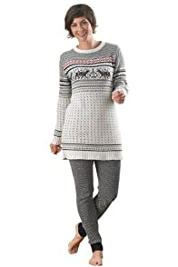 Green 3 Apparel Recycled USA-made Nordic Tunic Sweater