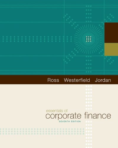 Essentials of Corporate Finance (The Mcgraw-Hill/Irwin...