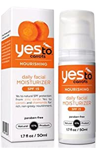 Yes To Inc Yes to Carrots Daily Facial Moisturizer SPF 15 -- 1.7 fl oz