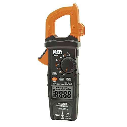 Klein-Tools-CL800-ACDC-Auto-Ranging-600-Amp-Digital-Clamp-Meter