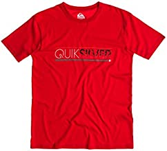 Quiksilver Classic T-Shirt manches courtes Homme Quick Red FR : S (Taille Fabricant : S)