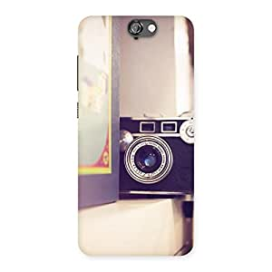 Delighted Pastel Camera Back Case Cover for HTC One A9