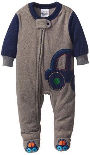 Lamaze Baby-Boys Newborn Boy Blanket Sleeper, Car, 0-3 Months