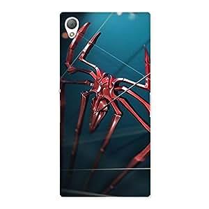 Ajay Enterprise Rel Climbing Spider Multicolor Back Case Cover for Sony Xperia Z3