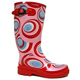 Pink Festival Wellies