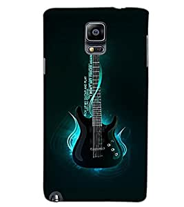 SAMSUNG GALAXY NOTE 3 GUITAR Back Cover by PRINTSWAG