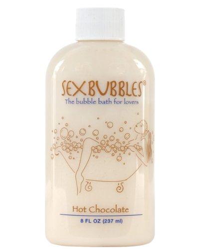 M.L.F. Enterprises Sex Bubbles Sensual Bubble Bath 8-Ounce, Hot Chocolate