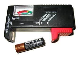 1 Universal Battery Testers(AA, AAA, C, D, 9V) for Energizer Duracell Batteries