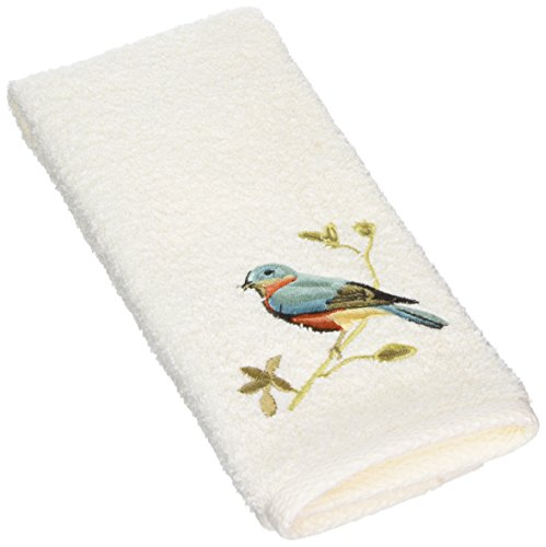 Avanti Premier Songbirds Fingertip Towel, Ivory (Avanti Premier Fingertip Towels compare prices)