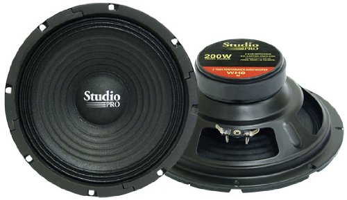 Pyramid Wh8 8-Inch 200 Watt High Power Paper Cone 8 Ohm Subwoofer