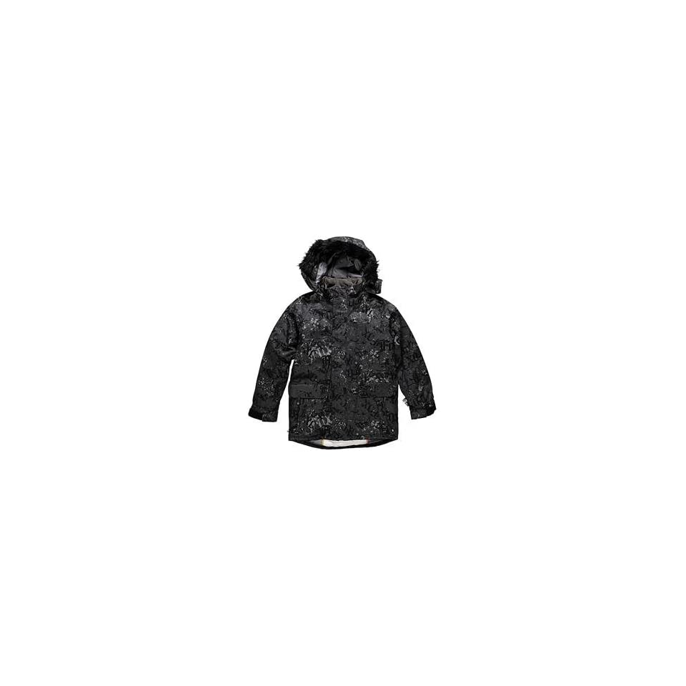 Fox Racing Stencil Jacket   Large/Charcoal