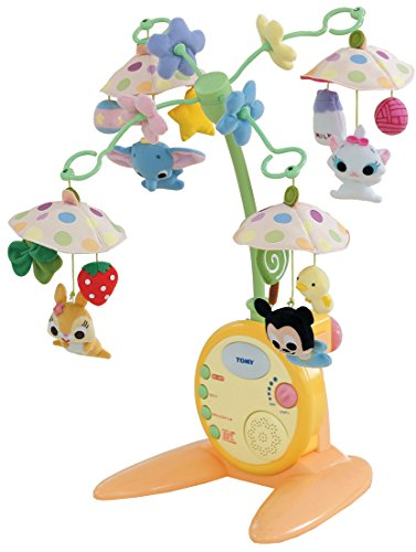 Merry Deluxe Soft Rattle Disney Characters
