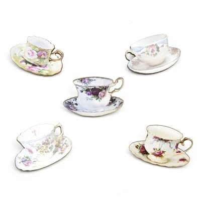Tea Cup Brooch (Assorted)