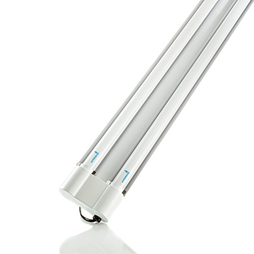 Hyperikon LED Utility Shop Light, 4 Foot Linkable Double