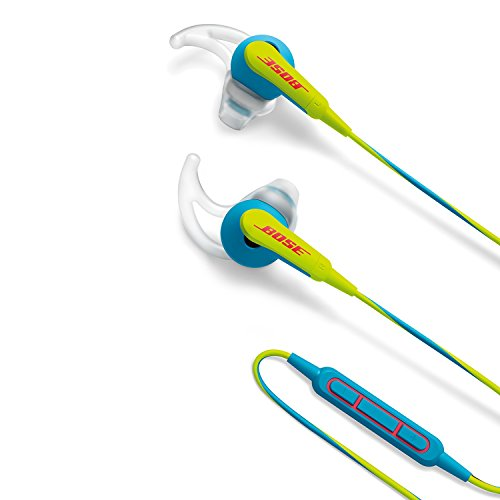 Bose discount duty free Bose SoundSport in-ear headphones - Apple devices, Neon Blue