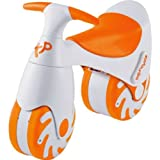 Unique TP Toys Bouncycle Ride-On - Orange with accompanying Adv. Vibration Alarm