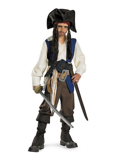 Child Captain Jack Sparrow Deluxe Costume