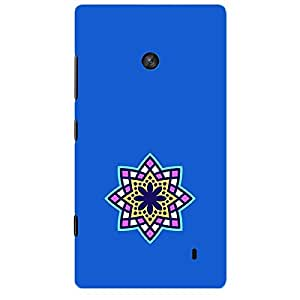 Skin4gadgets Artistically Drawn Mandala Tattoo In Pastel Colors -Royal Blue, No.14 Phone Skin for LUMIA 520