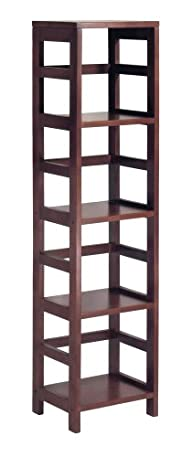 Winsome Wood 4-Shelf Narrow Shelving…