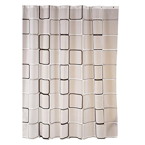 Rideau sur mesure les bons plans de micromonde - Rideau de douche textile impermeable ...