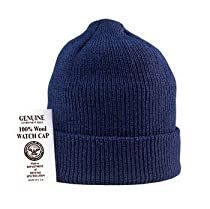 Navy Blue - Genuine GI US Navy Military Wool Watch Cap