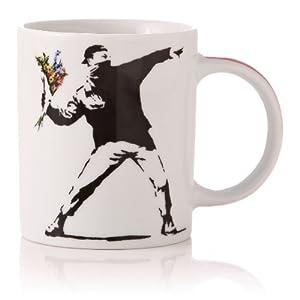 banksy mug