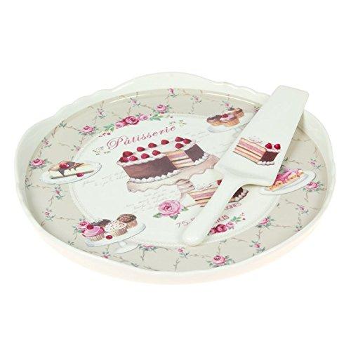 Nuova R2S 625SWEE Plat à Gâteau sans Pied Sweet 30 cm