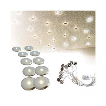 cle sternenhimmel led set warmweiss 10x sterne 12v inkl trafo 5w beleuchtung. Black Bedroom Furniture Sets. Home Design Ideas
