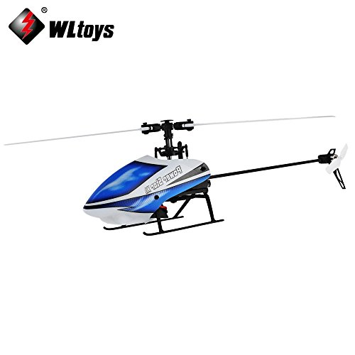 Wltoys V977 6CH RC 2.4GHz Gyroscope Remote Control Helicopter Brushless Flybarless 3D Aircraft (Gas Powered Remote Helicopter compare prices)