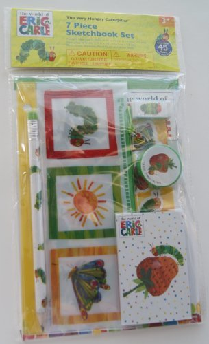The Very Hungry Caterpillar 7 Piece Sketchbook Set - 1