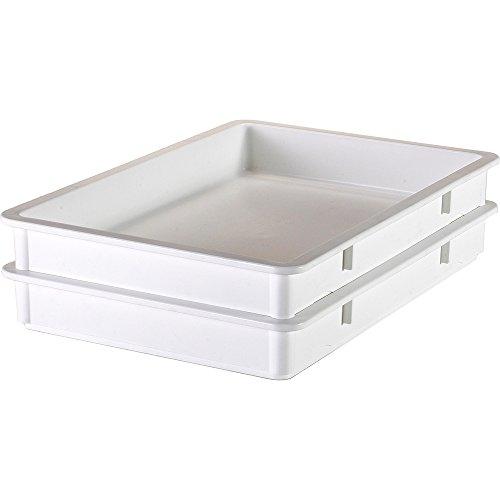 Cambro Polypropylene Pizza Dough Boxes, 3