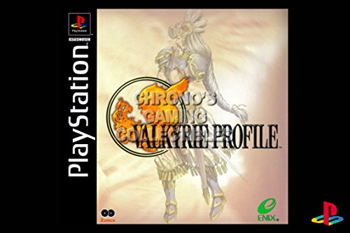 CGC Huge Poster - Valkyrie Profile - Playstation PS1 PSX - PSX112 (24