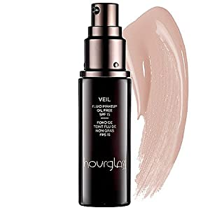 Hourglass Veil Fluid Makeup Oil Free SPF 15 No. 3 - Sand 1 oz from Hourglass