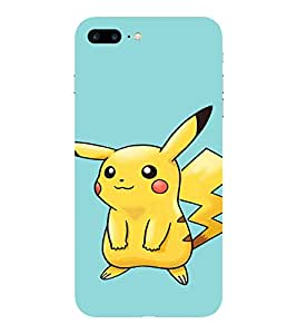 Evaluze pikachu Printed Back Cover for APPLE IPHONE 7 PLUS