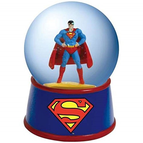 WL SS-WL-25501 65mm DC Comics The Man of Steel Superman Posing Colorful Water Globe