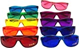 Color Therapy Glasses Pro Style Set of 10 Colors [Also Available in Set of 7 or 9]