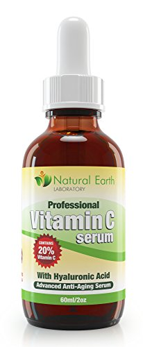 buy 2Oz Of Vitamin C Serum For Face Contains Clinical Strength 20% Vitamin C + Amino Complex + Hyaluronic Acid. Reverse Skin Aging & Wrinkles Look And Feel Younger! 100% Guaranteed.